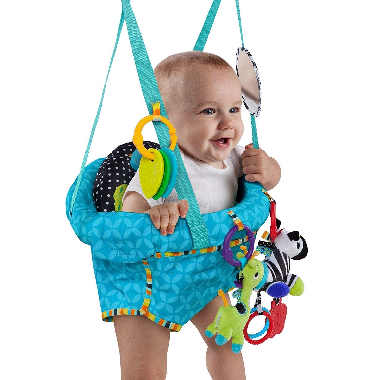 Un sauteur bébé pour stimuler le petit cerveau