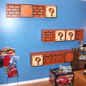 chambre d'enfant geek