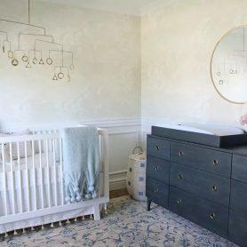 transformation de la chambre d'enfant