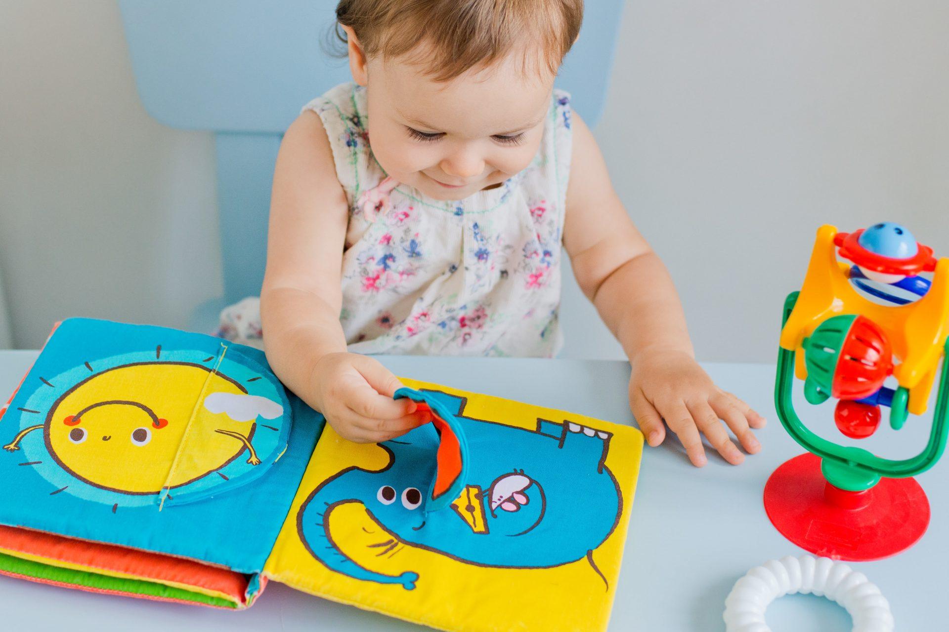 livres à toucher bébé