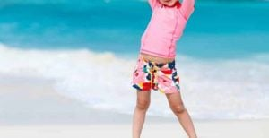 Tee Shirt Anti UV pour enfant 1