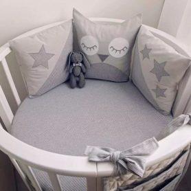 Tour de lit bébé - image