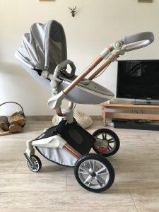 avantages d'une poussette bébé à 3 roues