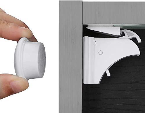 aucun Outil ni vis N/écessaires Bloc Porte Securite Bebe Installation Facile en Quelques Secondes Newlemo Bloque Porte B/éb/é Magn/étique Version Am/élior/ée